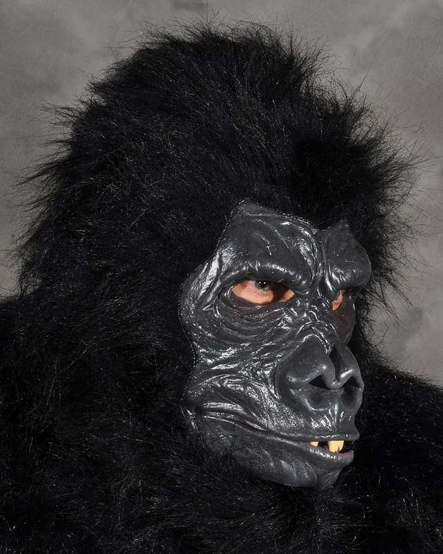Click to view product details and reviews for Mask Head Deluxe Gorilla.